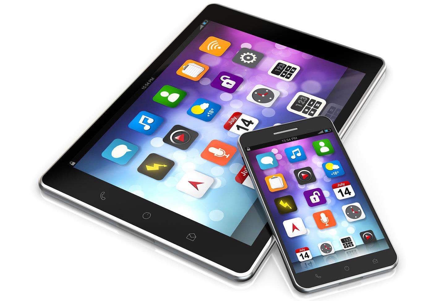 Картинки планшетов и смартфонов