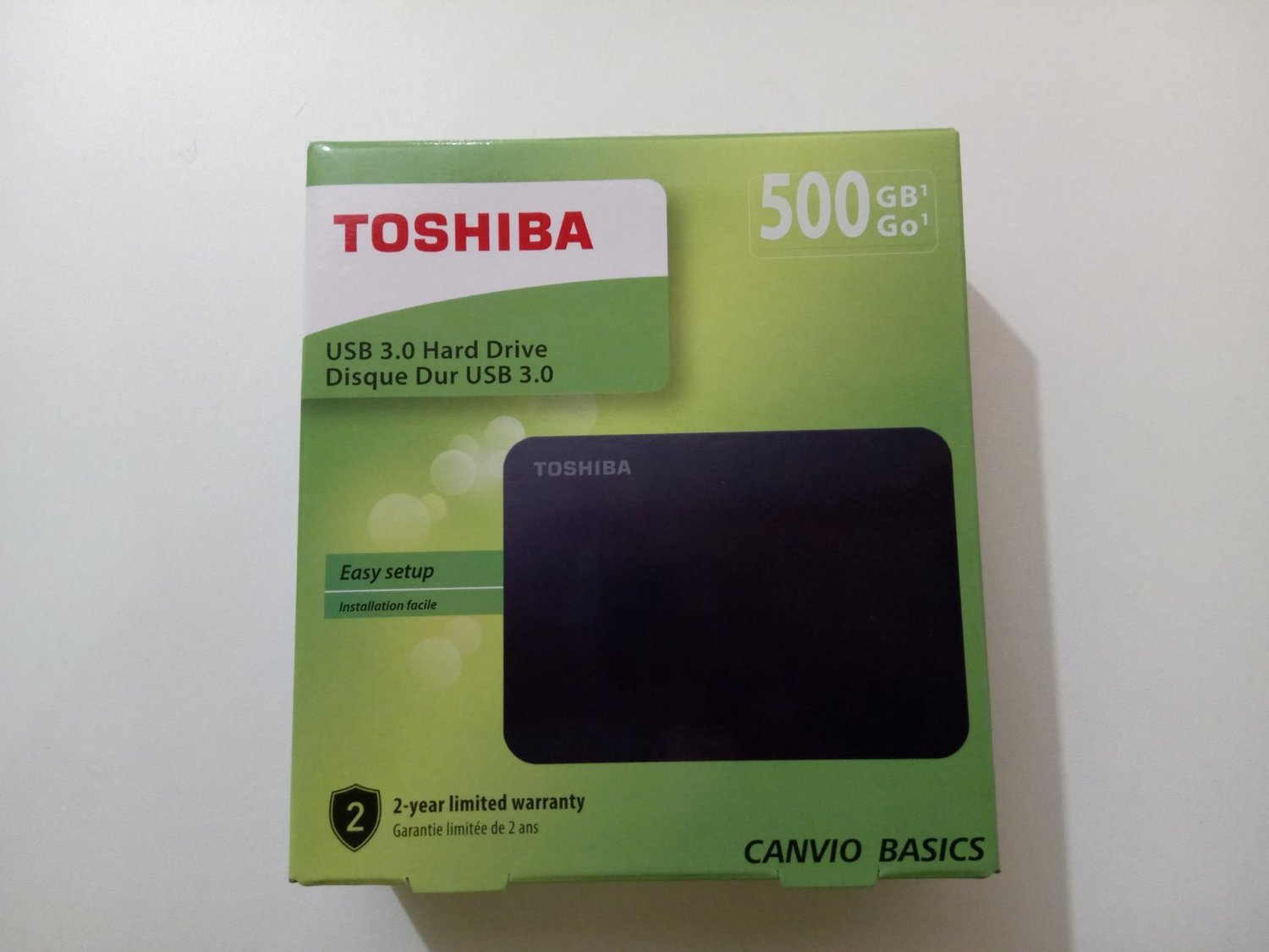 Внешний HDD Toshiba Canvio Basics 500 Гб